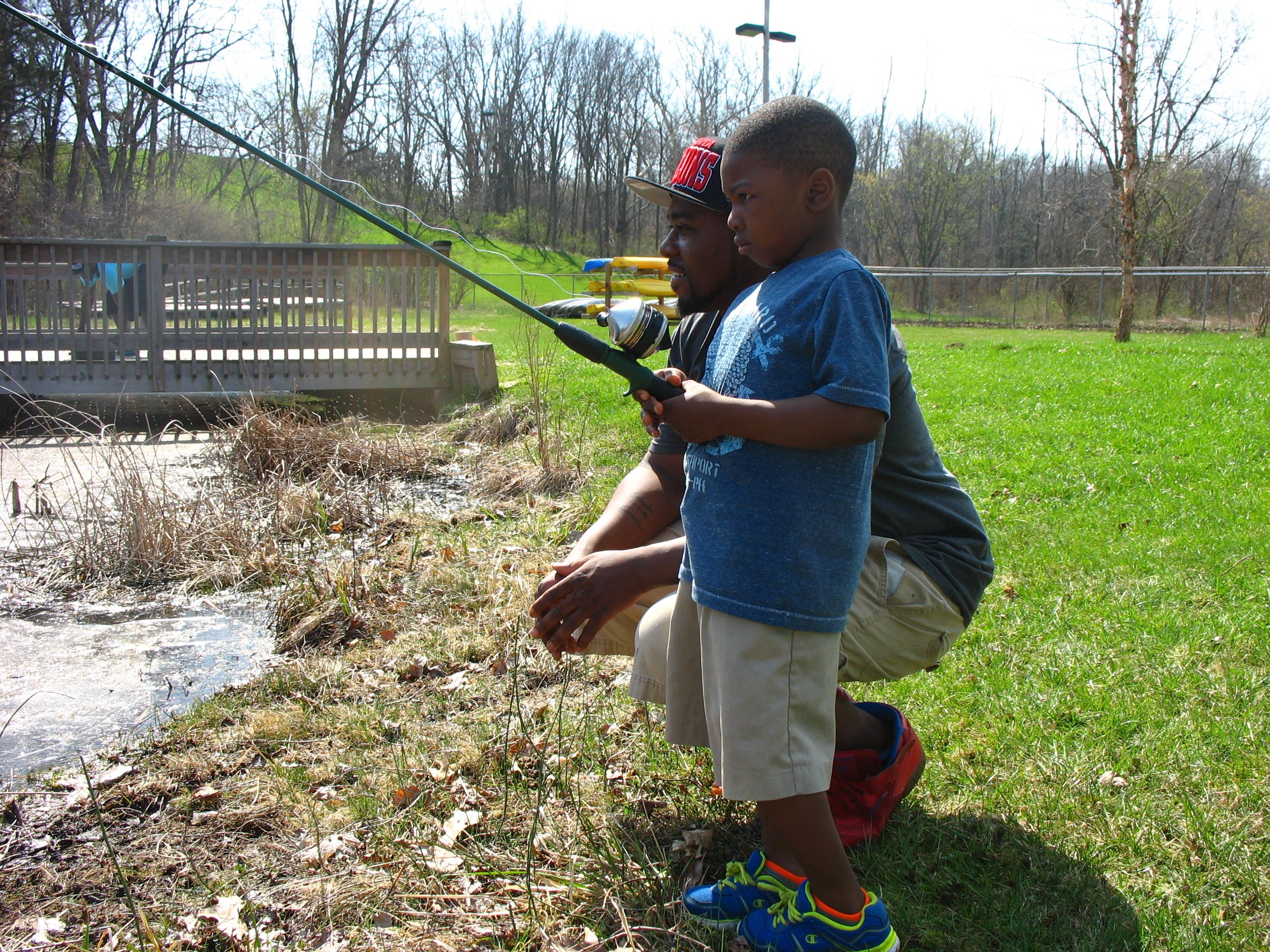 Spring Fun First Fishing