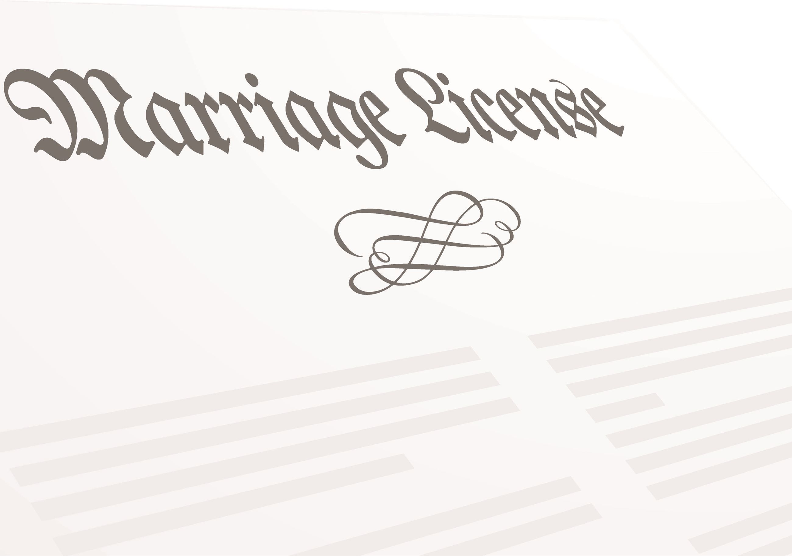 marriage license spotlight