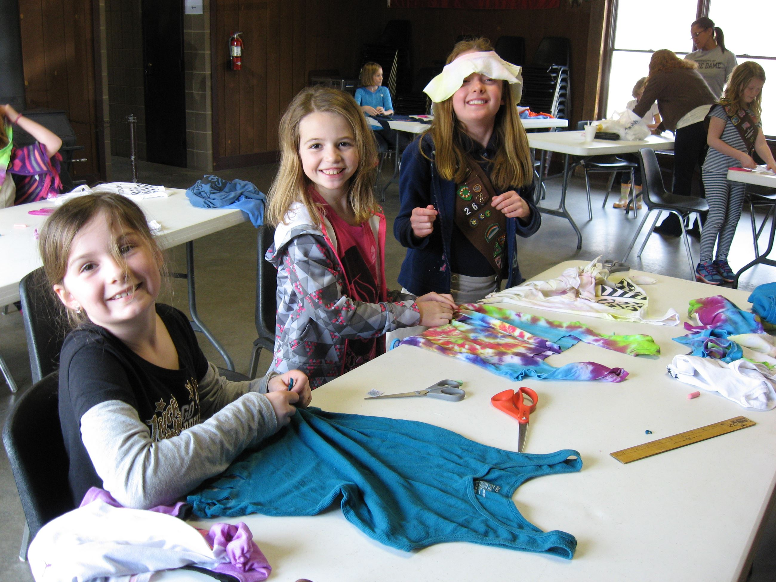 Children create new items from old Ts